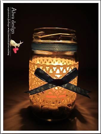 20130222-Aiwa 婚禮的果醬燭台DIY-14