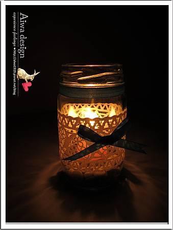 20130222-Aiwa 婚禮的果醬燭台DIY-15