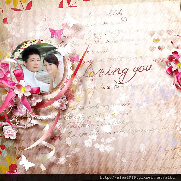 20130119-婚卡PINK bow