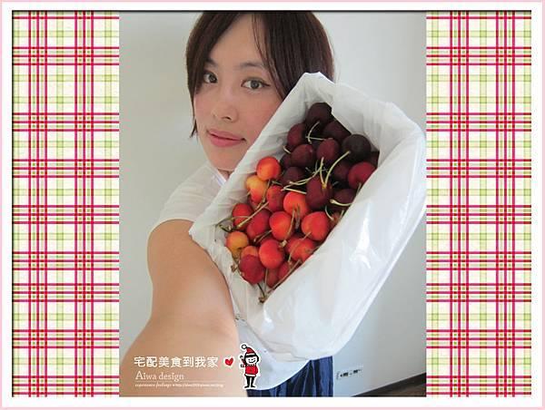 果夏GrowShop!華盛頓空運紅白櫻桃,口感好細緻,甜到心坎裡-12.jpg