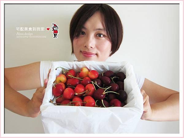 果夏GrowShop!華盛頓空運紅白櫻桃,口感好細緻,甜到心坎裡-13.jpg