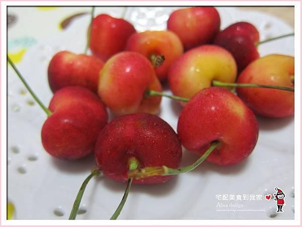果夏GrowShop!華盛頓空運紅白櫻桃,口感好細緻,甜到心坎裡-33.jpg