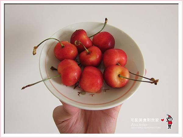 果夏GrowShop!華盛頓空運紅白櫻桃,口感好細緻,甜到心坎裡-34.jpg
