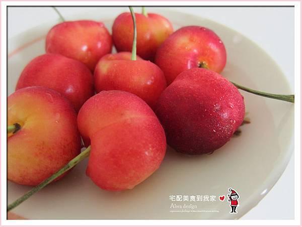 果夏GrowShop!華盛頓空運紅白櫻桃,口感好細緻,甜到心坎裡-35.jpg
