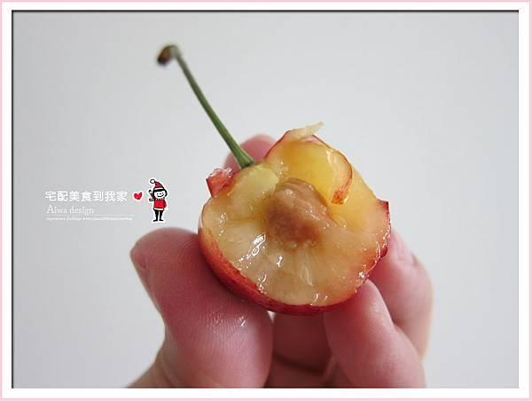 果夏GrowShop!華盛頓空運紅白櫻桃,口感好細緻,甜到心坎裡-36.jpg