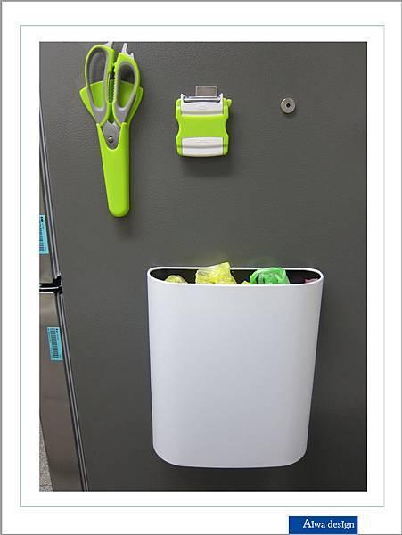 日本製造!磁石置物桶,質感出眾,設計簡約,不占空間,直接吸附在金屬上家具上【Siigma】-15.jpg