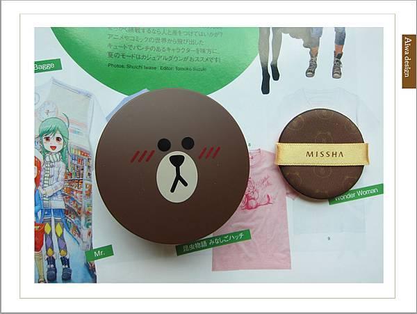 韓國 MISSHA╳LINE FRIENDS 氣墊腮紅,熊大超可愛-01.jpg