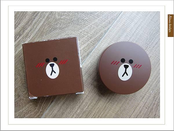 韓國 MISSHA╳LINE FRIENDS 氣墊腮紅,熊大超可愛-08.jpg