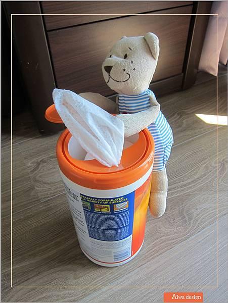美國CLOROX 高樂氏居家殺菌濕紙巾,一擦細菌死光光-06.jpg