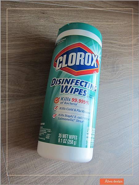 美國CLOROX 高樂氏居家殺菌濕紙巾,一擦細菌死光光-07.jpg