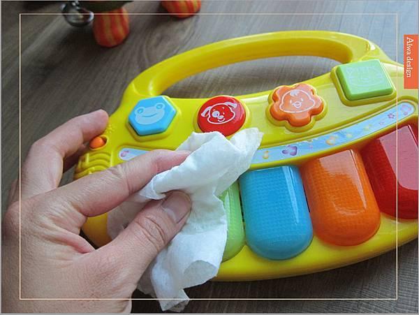 美國CLOROX 高樂氏居家殺菌濕紙巾,一擦細菌死光光-14.jpg