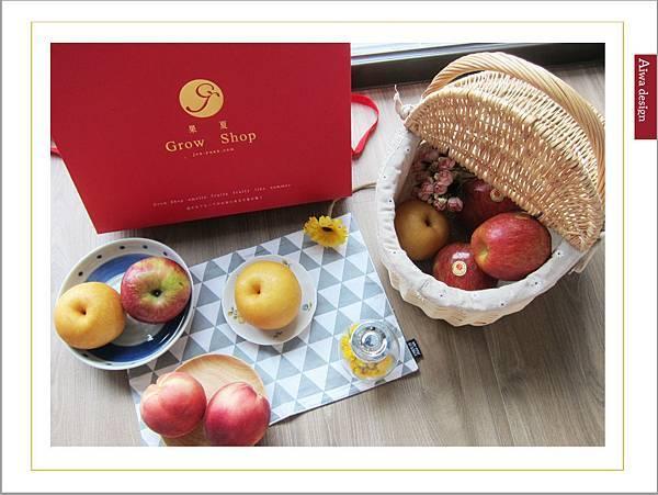 果夏GrowShop中秋節送禮推薦!有超甜的加州空運水蜜桃禮盒,韓國園黃梨+智利富士蘋果禮盒-33.jpg