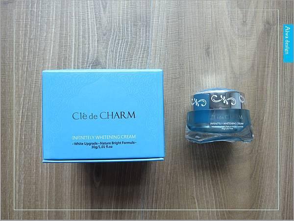 【肌膚保養】Cle de CHARM 珂麗薔朵 鑽白光透無瑕霜-04.jpg