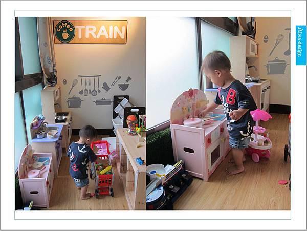 《新竹親子景點推薦》【火車親子樂園】寶貝快樂玩耍、微笑做DIY的親子餐廳-24.jpg