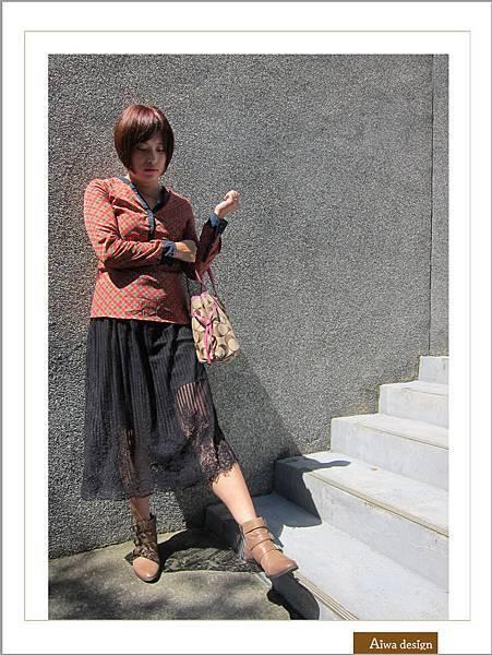 【穿搭】秋日LOOK,簡約氣質。穿上VINCE CAMUTO 扣環經典皮革短靴-09.jpg