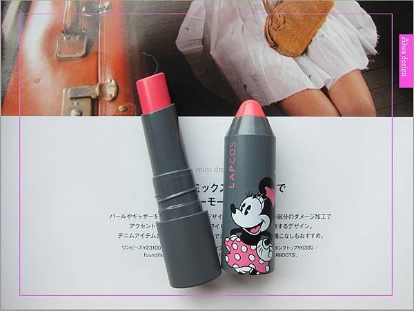 韓國 LAPCOS x Disney 迪士尼聯名維他命E保濕潤唇膏+超顯色LED奶油唇膏-14.jpg