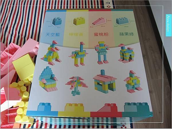 【無毒兒童玩具】Bei'sBaby貝斯寶貝,好玩的益智積木,尺寸巨大,安全輕巧,顏色粉嫩,增進親子互動-09.jpg