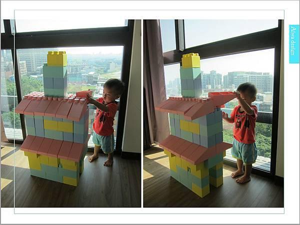 【無毒兒童玩具】Bei'sBaby貝斯寶貝,好玩的益智積木,尺寸巨大,安全輕巧,顏色粉嫩,增進親子互動-19.jpg