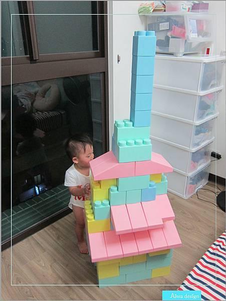 【無毒兒童玩具】Bei'sBaby貝斯寶貝,好玩的益智積木,尺寸巨大,安全輕巧,顏色粉嫩,增進親子互動-21.jpg