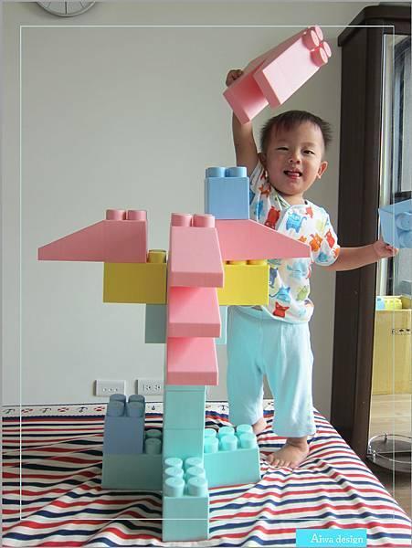 【無毒兒童玩具】Bei'sBaby貝斯寶貝,好玩的益智積木,尺寸巨大,安全輕巧,顏色粉嫩,增進親子互動-25.jpg