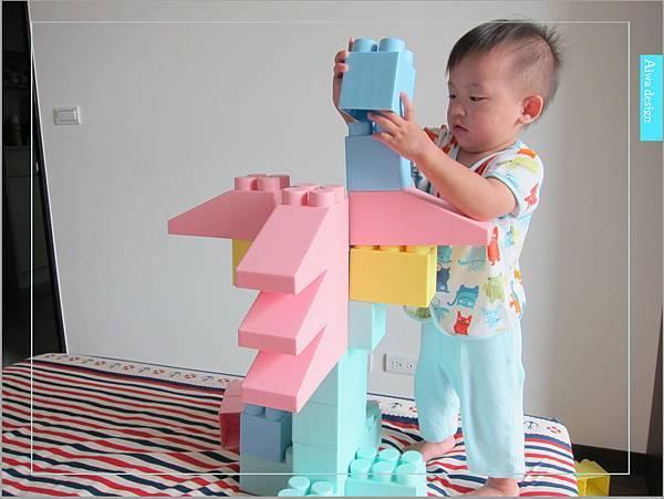 【無毒兒童玩具】Bei'sBaby貝斯寶貝,好玩的益智積木,尺寸巨大,安全輕巧,顏色粉嫩,增進親子互動-26.jpg