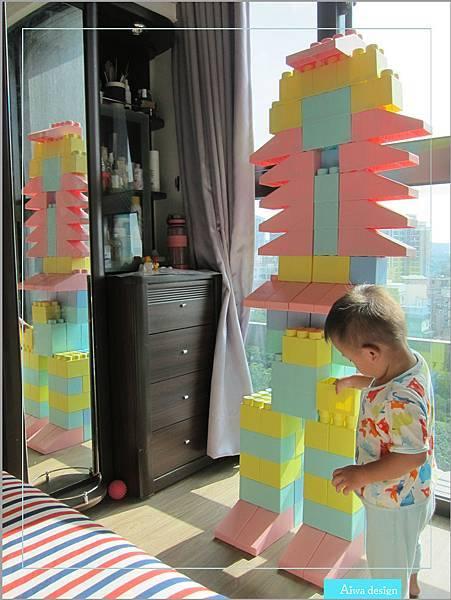 【無毒兒童玩具】Bei'sBaby貝斯寶貝,好玩的益智積木,尺寸巨大,安全輕巧,顏色粉嫩,增進親子互動-28.jpg