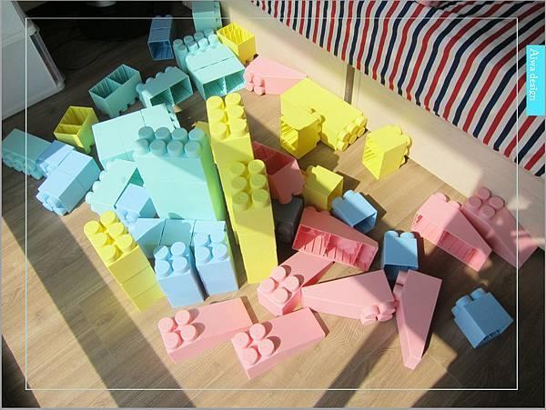 【無毒兒童玩具】Bei'sBaby貝斯寶貝,好玩的益智積木,尺寸巨大,安全輕巧,顏色粉嫩,增進親子互動-38.jpg