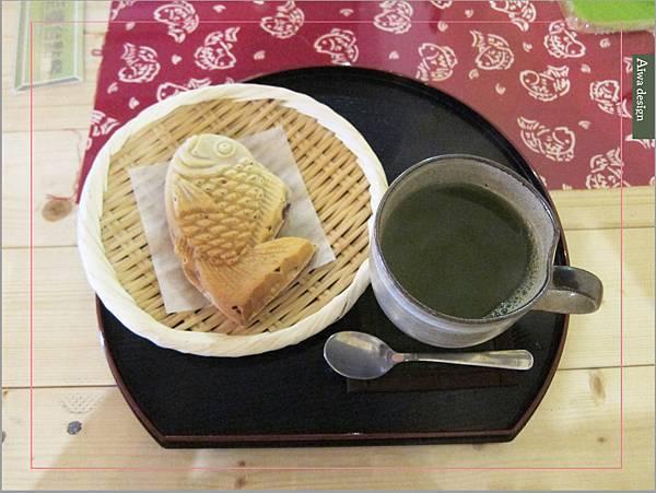捕獲野生可愛鯛魚燒!新竹日式甜點老屋人氣夯,漫遊《二本魚》-08.jpg