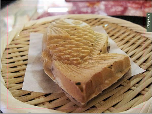 捕獲野生可愛鯛魚燒!新竹日式甜點老屋人氣夯,漫遊《二本魚》-23.jpg