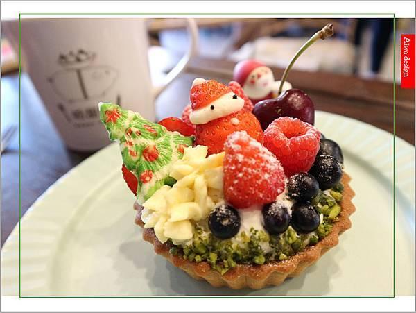 【聖誕萬歲,可愛無罪】哈甜豬 Honey Piggy!手做甜點+夢幻水果塔,一起來享受甜蜜又美味的童話世界下午茶-33.jpg