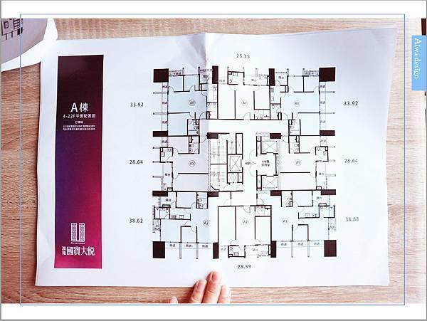 【竹北看屋日記】買得起的小豪宅,李天鐸建築師設計,出自興富發集團的潤隆建設,口碑有保證-52