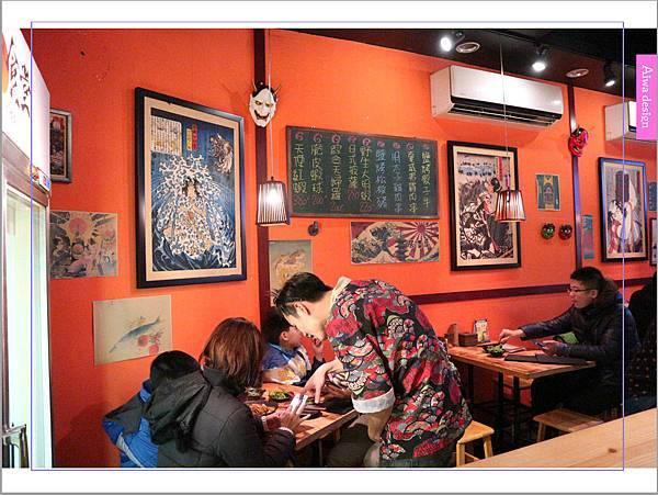 【新竹車站美食】新竹居酒屋《深夜食堂》有串燒、烤物、私房料理等,晚餐和愛人小酌約會一下-07.jpg