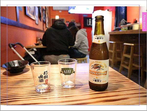 【新竹車站美食】新竹居酒屋《深夜食堂》有串燒、烤物、私房料理等,晚餐和愛人小酌約會一下-13.jpg