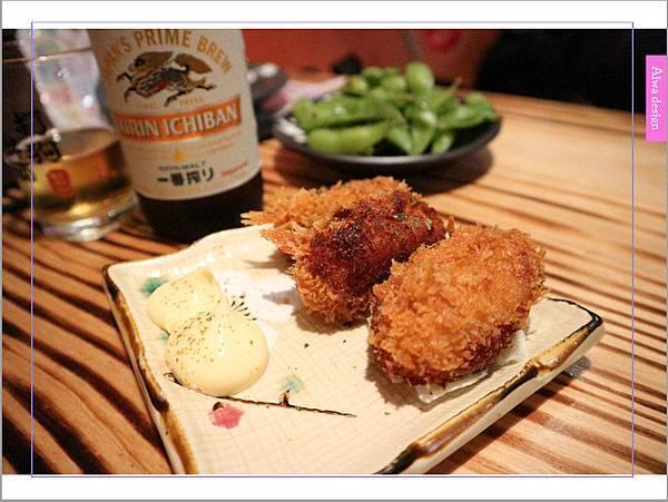 【新竹車站美食】新竹居酒屋《深夜食堂》有串燒、烤物、私房料理等,晚餐和愛人小酌約會一下-17.jpg