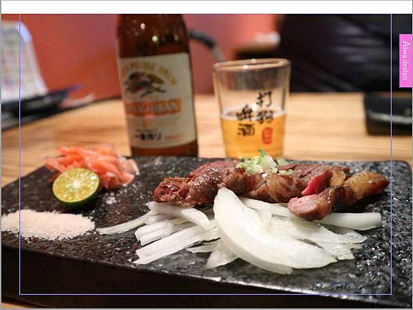 【新竹車站美食】新竹居酒屋《深夜食堂》有串燒、烤物、私房料理等,晚餐和愛人小酌約會一下-23.jpg