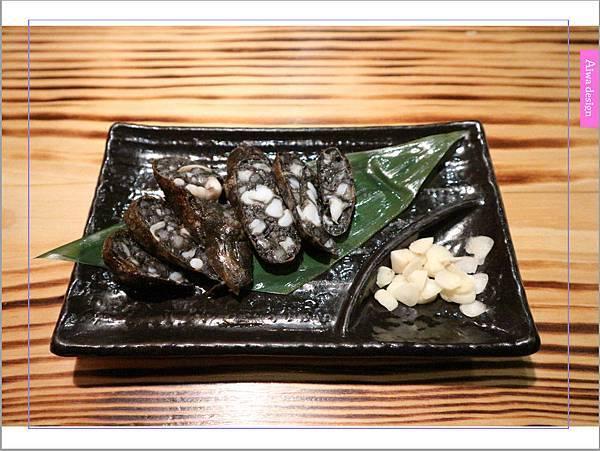 【新竹車站美食】新竹居酒屋《深夜食堂》有串燒、烤物、私房料理等,晚餐和愛人小酌約會一下-26.jpg