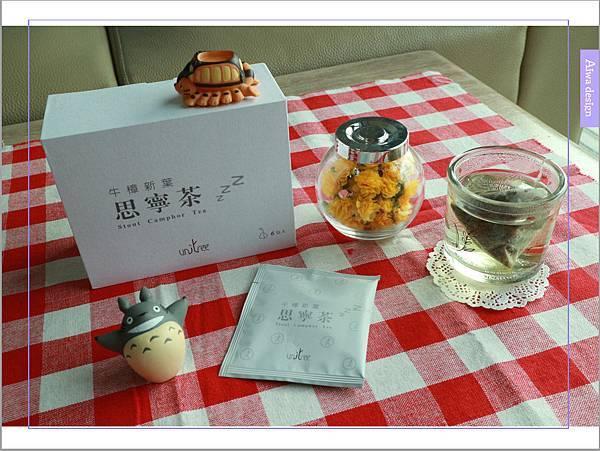 【宅配美食到我家】uniTree牛樟新葉思寧茶,不含咖啡因,帶有清雅香甜的檸檬香-01.jpg