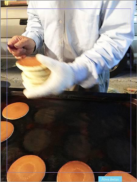 【週日竹北夜市吃什麼】推薦可愛老婆婆賣的銅鑼燒!現煎餅皮,帶點甘甜口感,一種純樸的美味-07.jpg