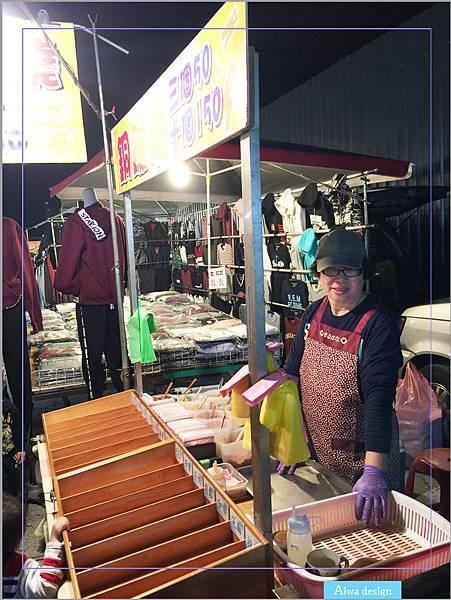 【週日竹北夜市吃什麼】推薦可愛老婆婆賣的銅鑼燒!現煎餅皮,帶點甘甜口感,一種純樸的美味-10.jpg