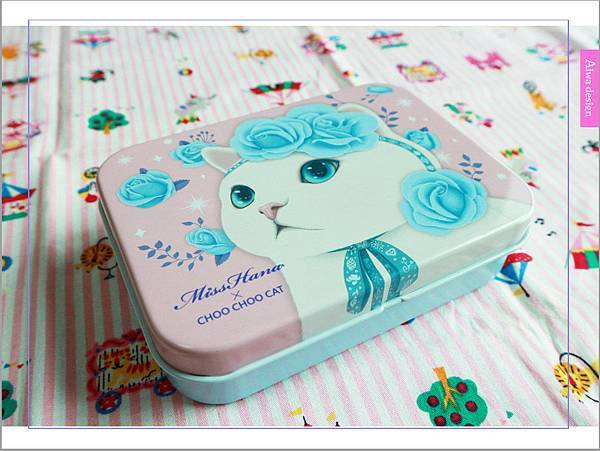 【彩妝+】萌到不行的♡Miss Hana花娜小姐 X CHOO CHOO CAT 經典眼膠筆鐵盒限定組-04.jpg