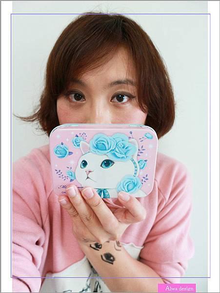 【彩妝+】萌到不行的♡Miss Hana花娜小姐 X CHOO CHOO CAT 經典眼膠筆鐵盒限定組-11.jpg