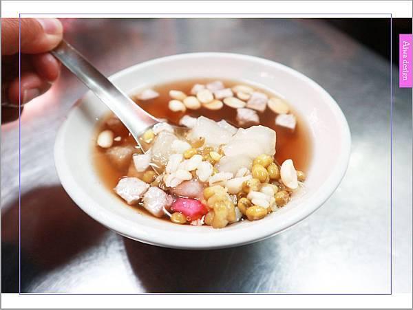 【老新竹人最愛】北門老街甜湯 (早點四果湯),33年不變口味的四果湯-01.jpg