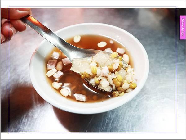 【老新竹人最愛】北門老街甜湯 (早點四果湯),33年不變口味的四果湯-10.jpg
