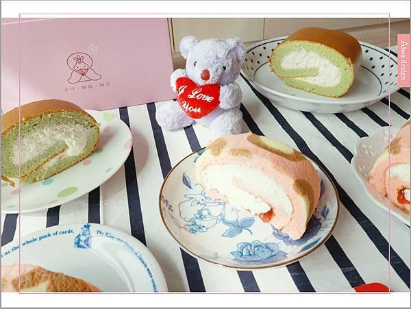 【宅配美食到我家】櫻和堂│手作生乳捲│超美味的宅配蛋糕│抹茶黑糖心+花樣草莓-25.jpg