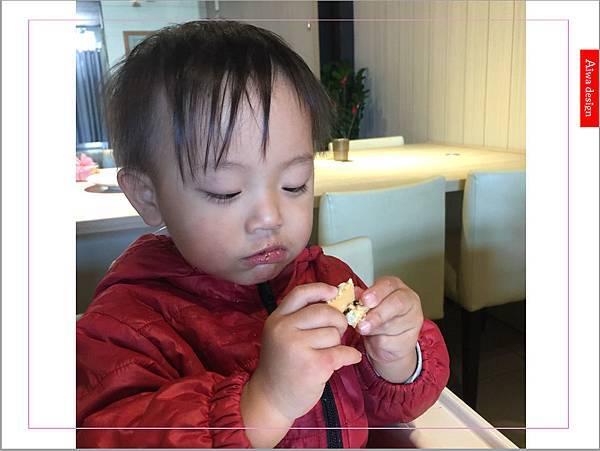 【新竹新鮮事】翡翠野菇鮭魚焗飯,配料好豐盛!《果子咖啡》超值午餐只要200元-19.jpg