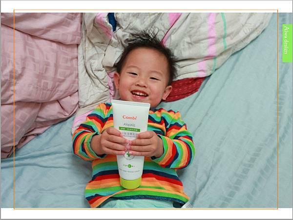 【育兒好物】天然保濕零負擔,呵護寶寶脆弱肌膚的首選, Combi 舒敏滋養乳液-13.jpg