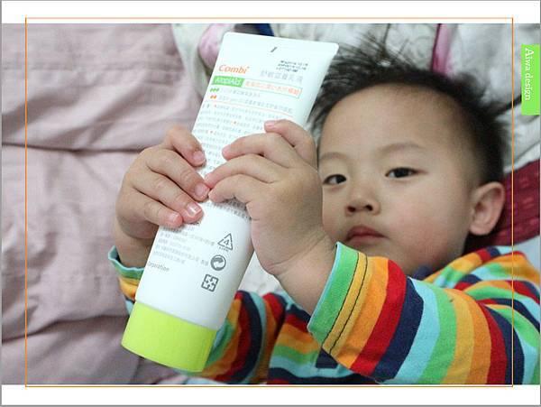 【育兒好物】天然保濕零負擔,呵護寶寶脆弱肌膚的首選, Combi 舒敏滋養乳液-15.jpg