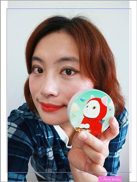 【彩妝+】10秒快速上妝!Miss Hana 花娜小姐 X CHOO CHOO CAT 淨潤無瑕金屬氣墊粉餅。肌膚持妝一整天-15.jpg