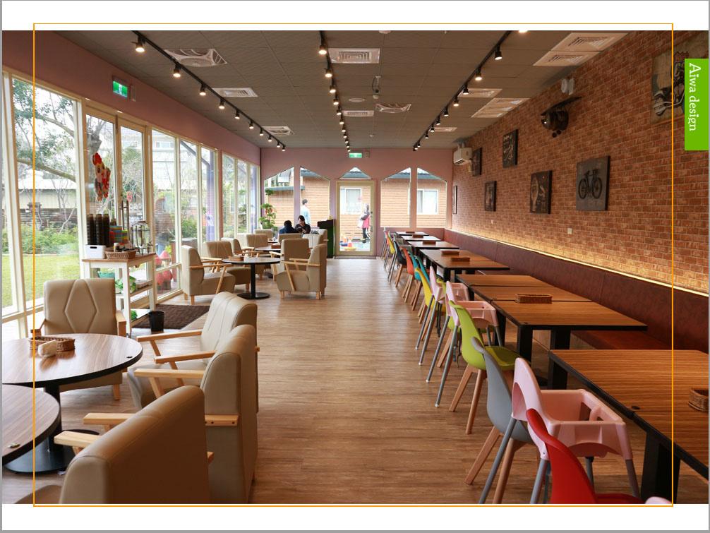 【新竹湖口親子餐廳】大房子親子餐廳成長空間│餐點好吃!媲美飯店水準│手作課程超好玩│戶外賽車區、沙坑、攀岩,讓小孩開心放電-36.jpg