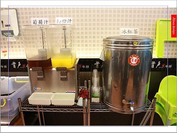 【新竹美食】CP值高的平價美食│首戶牛排│飲料、湯品、小美冰淇淋無限暢飲-15.jpg